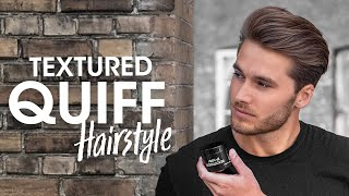 Quiff Hairstyle with Texture - Mens Hair Tutorial