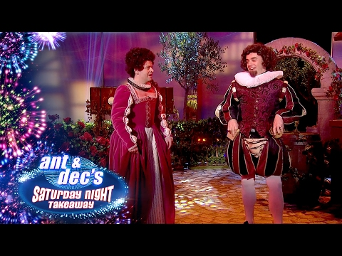 Shakespeare Play with Ant & Dec and Simon Callow  Saturday Night Takeaway