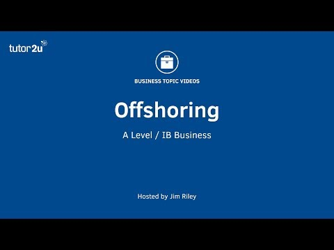 Offshoring (Operations Management)