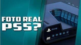 A primeira foto real do Playstation 5 , vazamento louco, será que é real?