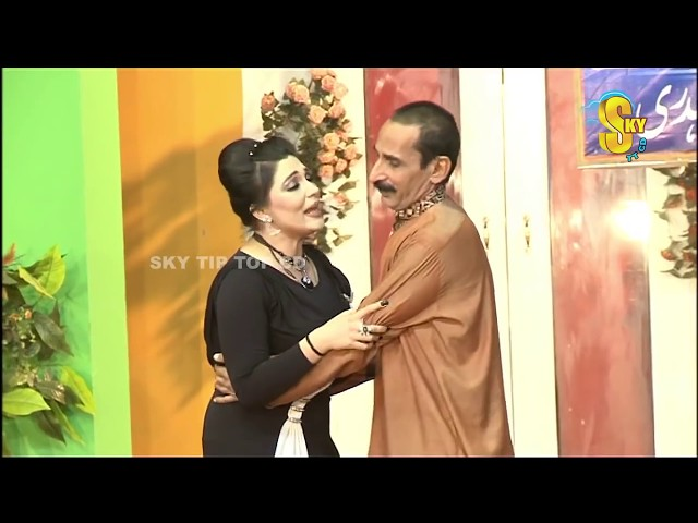 Iftikhar Thakur with Khushboo and Amanat Chan Stage Drama Pyaari Full Comedy Clip 2019