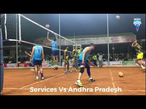 Services vs Andhra Pradesh | Federation cup Warming Shots 2018 | Watch HD