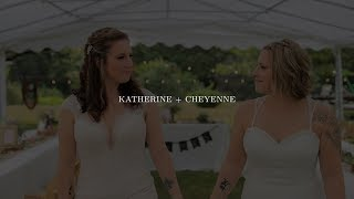Gorgeous Outdoor Wedding | Katherine + Cheyenne Wedding Highlight Film | Zpro Films