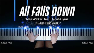 Alan Walker - All Falls Down (Feat. Noah Cyrus with Digital Farm Animals) | PIANO COVER