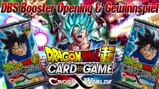 DBS Booster Packs Opening und Gewinnspiel! ;D | Dragon Ball Super Card Game Deutsch