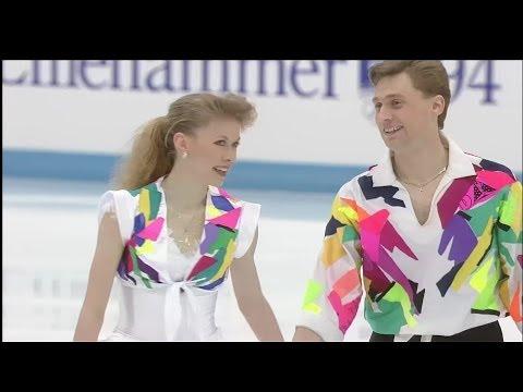 HD Oksana Baiul and Viktor Petrenko  1994 Lillehammer Olympic  Exhibition