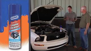 How To Clean Engine - Foamy Cleaner