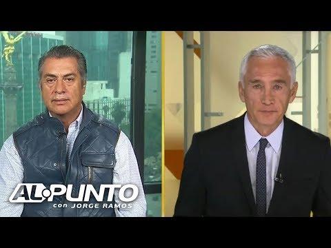 'El Bronco' le asegura a Jorge Ramos que no hizo trampas para conseguir la candidatura independiente