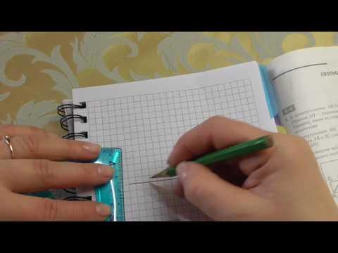 Самостоятельная работа «Решение треугольников», 9 класс