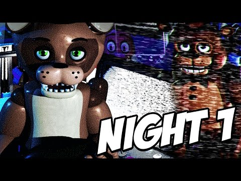 TOY FREDDY SECRET! POPGOES JUMPSCARE?! | POPGOES #1 NIGHT 1 (FNAF Fan Game)