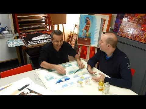 Cours Peinture A L Huile Comment Faire Un Glacis Sur Peinture A L