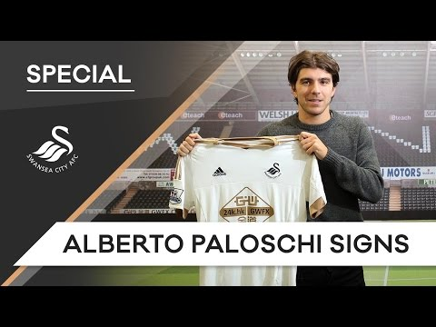 Swans TV - Paloschi signs for Swansea City