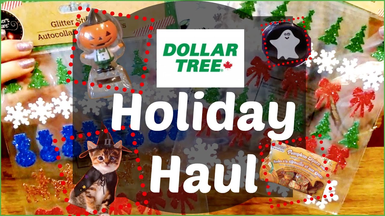 dollar tree holiday haul halloween thanksgiving xmas - Halloween Thanksgiving Christmas