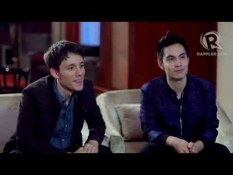 Sam Tsui, Kurt Hugo Schneider answer questions from PH fans