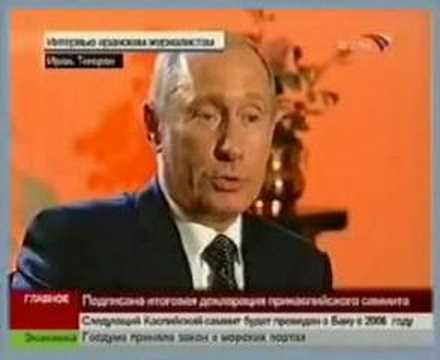 President Putin about Iran, Russia and Zoroastrianism