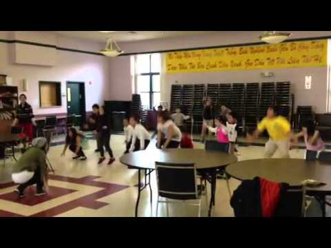 Viet-AID after school program's dance class, choreographed by Yiota Kariotis
