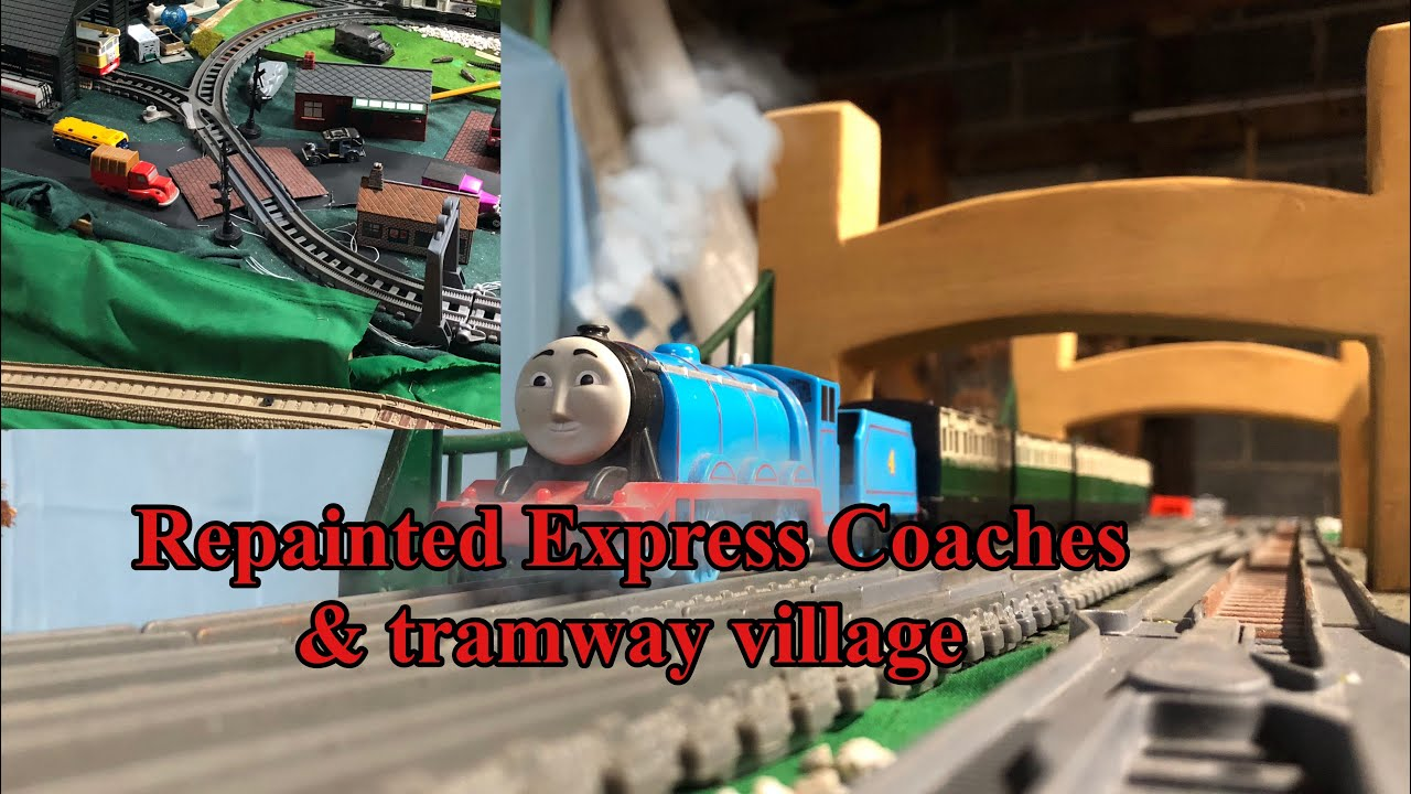 CUSTOM Express Coaches Repaint and Tramway Crossing