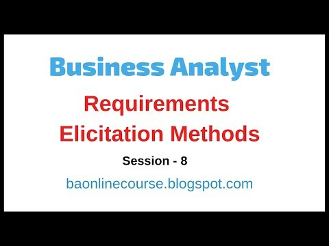 Requirements Elicitation Methods Tutorial | Business Analyst Techniques | Brainstorming Tutorial