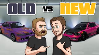 New Vs Old SPORTS CARS! | GTA5