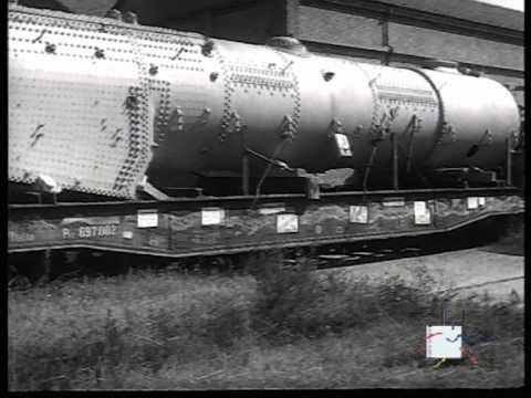 """La """"Breda"""" vista nella produzione di una moderna locomotiva a vapore"""