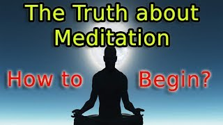 Easiest Explanation on How to Begin Meditation | Meditation for Beginners (Definition of Meditation)