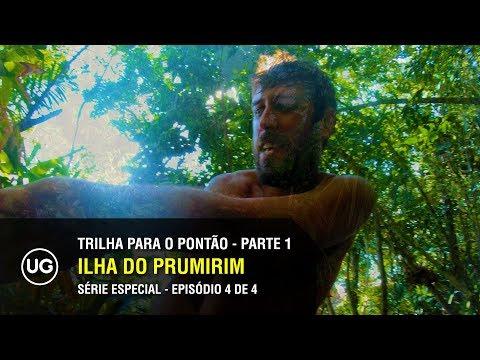 Ilha do Prumirim, Ubatuba SP - Trilha para o Pontão Parte 1 de 2 - Especial 4 de 4