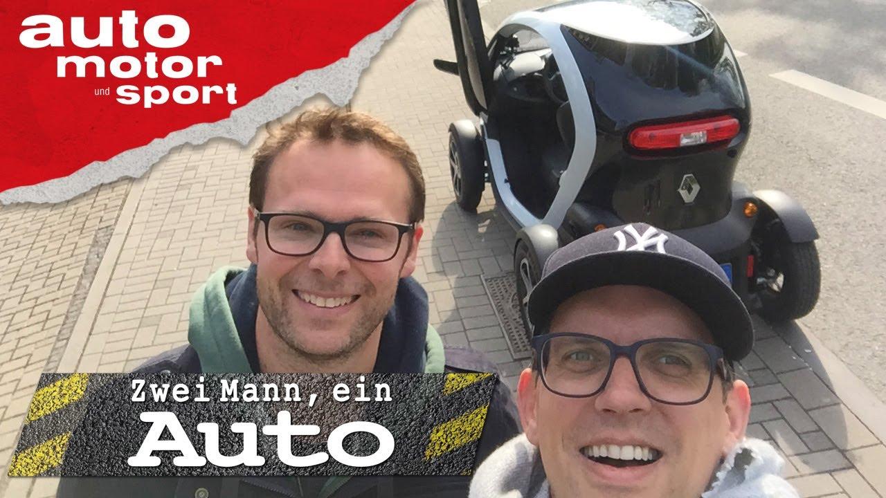 Renault Twizy - Zwei Mann, ein Auto | auto motor und sport