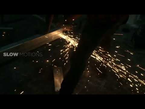 Welding worker | Slow motion | 240 FPS | Daily life
