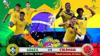 Brazil vs Colombia 2014 - FIFA 14
