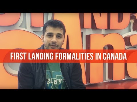Nachiket calling from the Toronto airport about his first landing experience.