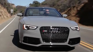 Audi RS5 Cabriolet - The Battleship That Screams