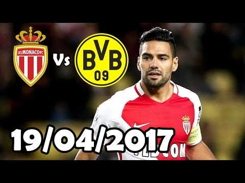 Falcao Vs Borussia Dortmund (19/04/2017) HD 720