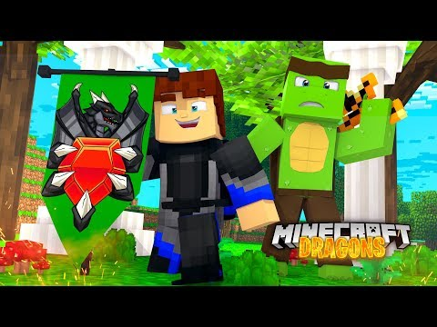 SCUBA STEVE OFFICIALLY JOINS THE MYTH NATION! - Minecraft Dragons
