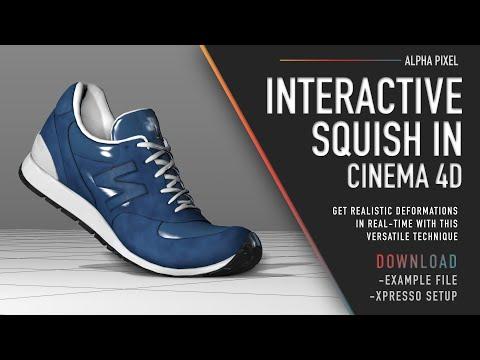 Interactive Squish in Cinema 4D – Alpha Pixel