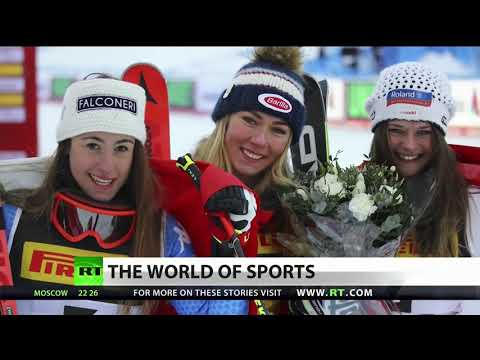 Lindsey Vonn Crashes Out, Shiffrin Takes Gold