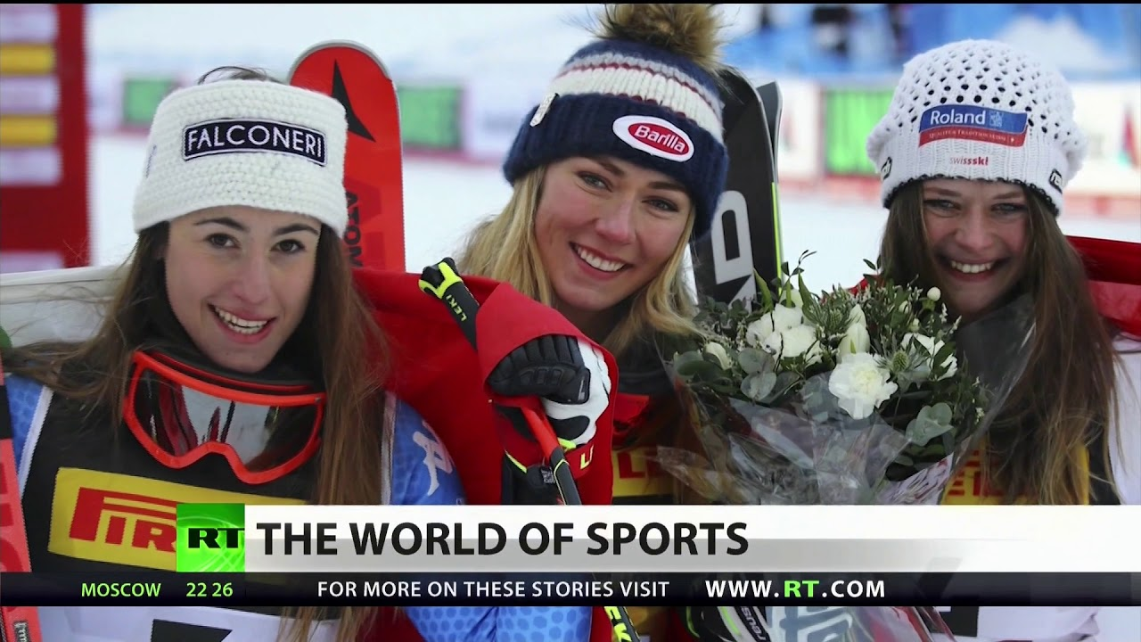 Lindsey Vonn Crashes as Mikaela Shiffrin Takes Gold at Skiing World Championships