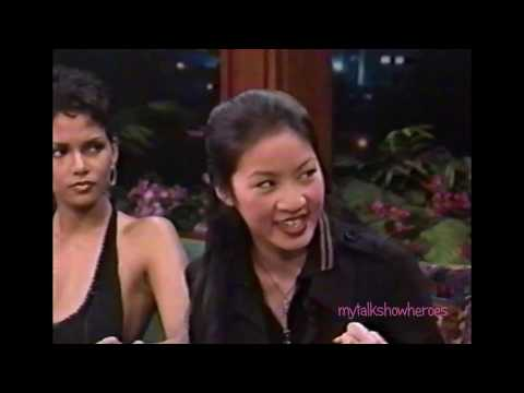 MICHELLE KWAN HAS FUN WITH LENO