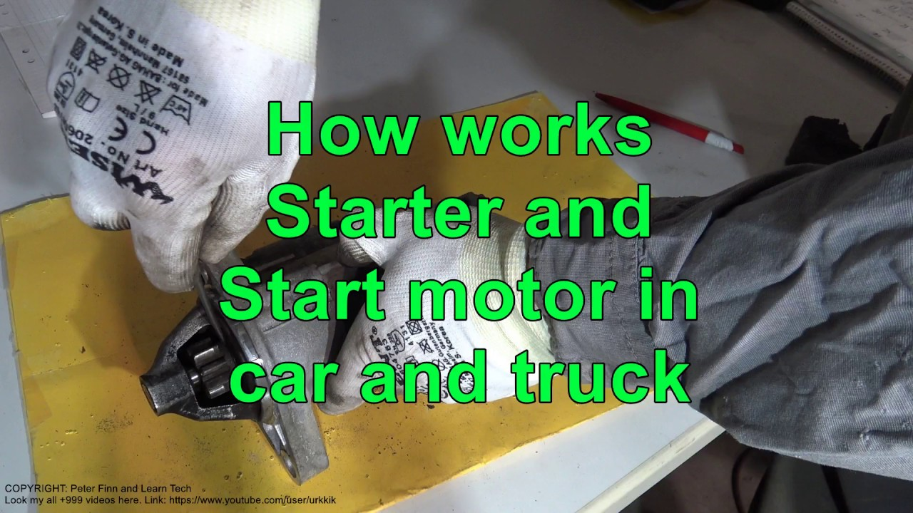 How Works Toyota Corolla Starter And Start Motor Years 2007 To 2018 Wiring Schematic