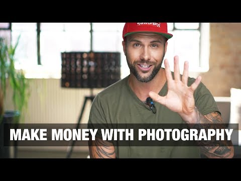 MAKE MONEY WITH PHOTOGRAPHY 📷 5 Ways
