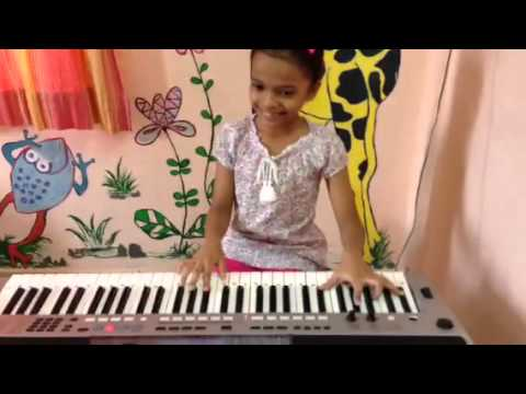 Khel Mandala from Natarang on keyboard by Radha