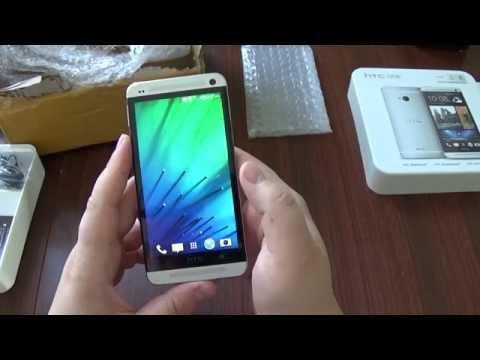 Посылки из Китая: Оригинальный HTC one M7 silver Берем или не?