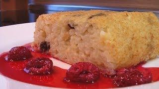 Пудинг рисовый видео рецепт. Книга о вкусной и здоровой пище