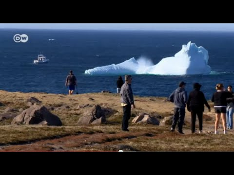 At sea with a Canadian iceberg harvester | Global 3000