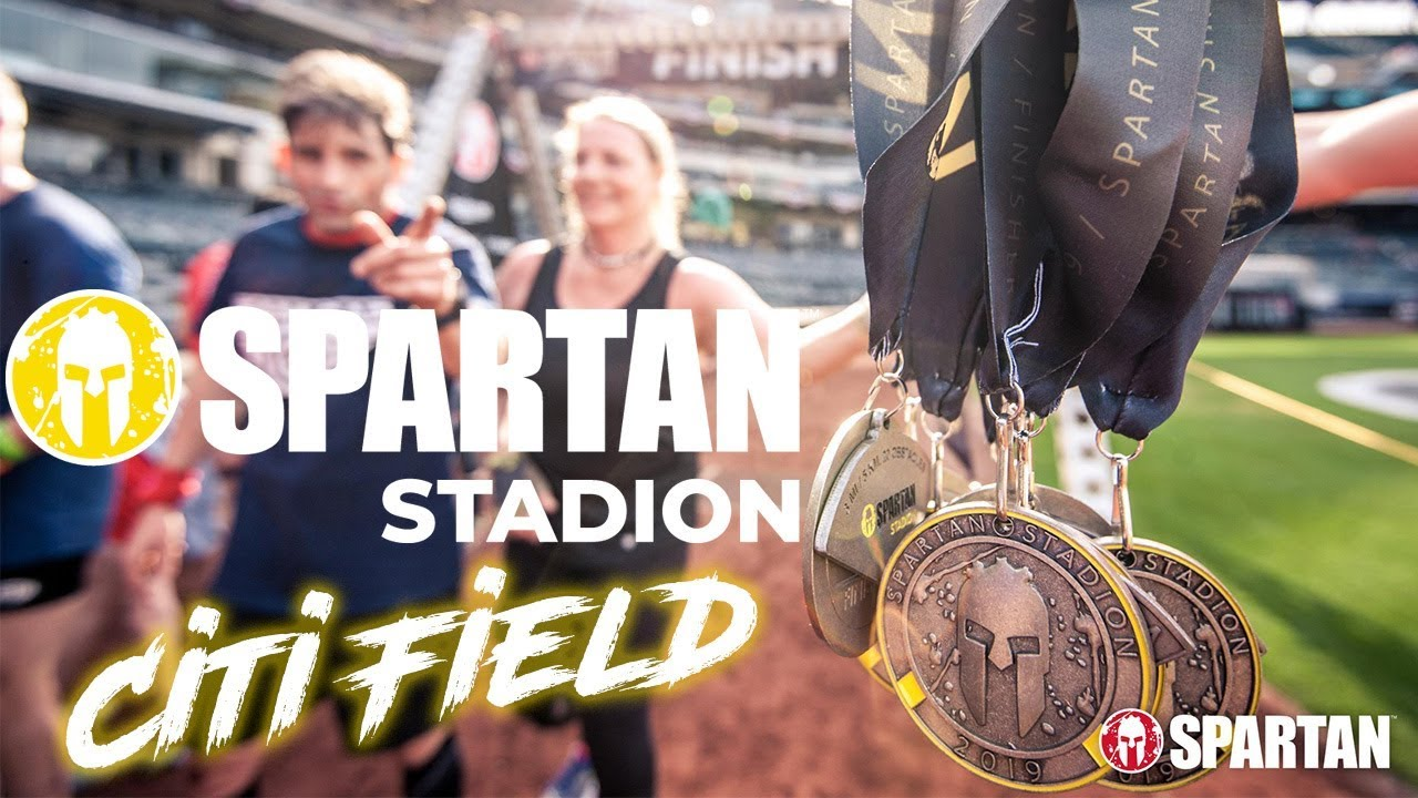 Spartan Race Stadion - Citi Field 2019 (All Obstacles)