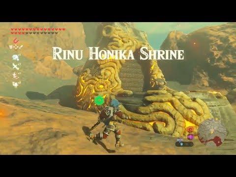 Zelda: Breath of the Wild | Rinu Honika Shrine - Champion Daruk's Song