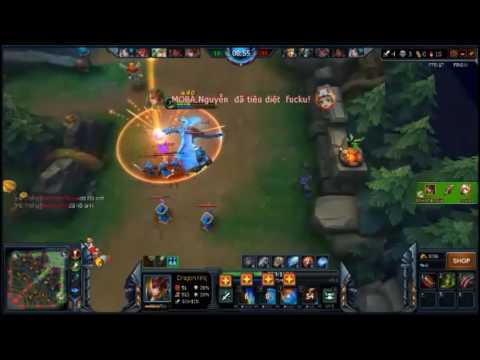 [MoBa] Dragon Knight!!! Nhựt Anh play game MoBa!!!!