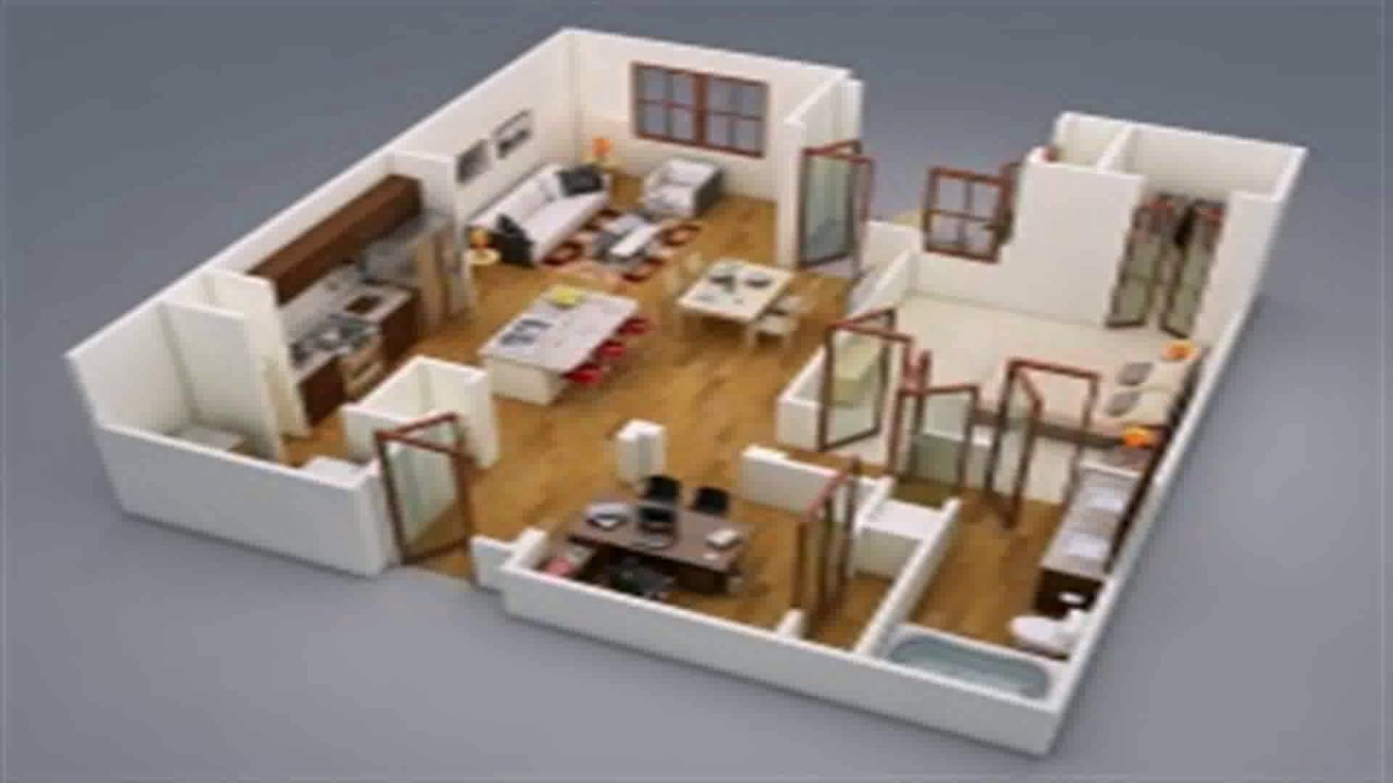 3ds Max Floor Plan Rendering Youtube