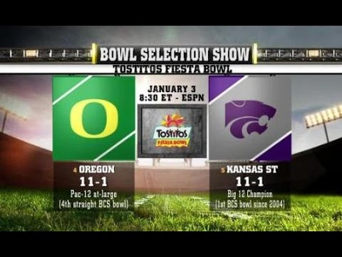 2013 Fiesta Bowl- Oregon Highlights
