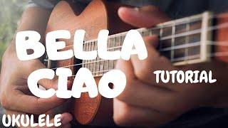 Bella Ciao - Easy Ukulele - La Casa de Papel - Folk Italy