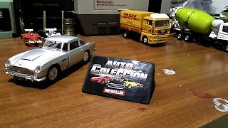 1963 Aston Martin DB5 Escala 1:38 Auto-Colección Medellín